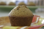 Sweet Moist Wheat Muffins