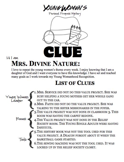 Clue-Leader Clues