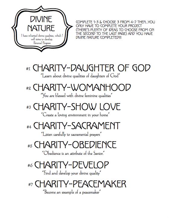 Divine Nature Cover Worksheet