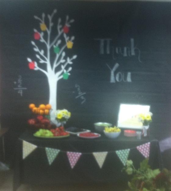 Teacher Appreciation Week MONDAY