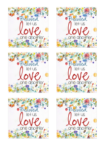 Love One Another 3 inch square LOGO 1 image