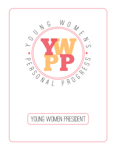 Young Women Leadership Binder Cover Page Image 2