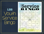 Youth Service Bingo Image